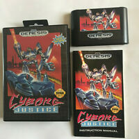 Cyborg Justice / CIB / / Near Mint / Sega Genesis & Mega Drive / Tested
