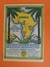 Notgeldschein Bismark 75 Pf. Deutsch- Hanseatischer Kolonialgedenktag 1922