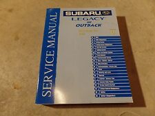 2003 Subaru Legacy and Outback Factory Service Manual Vol 6 Body