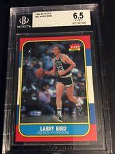 1986-87 Fleer #9 Larry Bird BGS 6.5 Boston Celtics Original