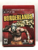 Borderlands (Sony PlayStation 3, 2009) Greatest Hits - Complete Tested Working