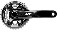 Shimano Deore XT FCM8000 2x11 Black Chainset/Crankset/Cranks No BB 34T/24T 165mm
