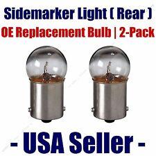 Sidemarker (Rear) Light Bulb 2pk - Fits Listed Toyota Vehicles - 97