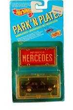 1989 Hot Wheels Park 'N Plates MERCEDES 380 SEL