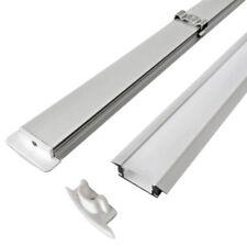 50cm 20Pcs LED forma YW Estilo de Canal de Aluminio Soporte para 5050 tira LED rígida