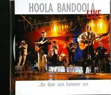 HOOLA BANDOOLA Live For Dom Som Kommer Sen Norske Gram EKGCD185 1999 15tr CD