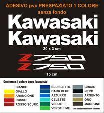 Kit Adesivi Kawasaki z750 z 750 carena serbatoio decals stickers pvc logo moto