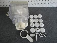 Popeil Automatic Pasta Sausage Maker Model P400 Includes 12 Dies Free Shipping!