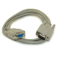 6ft Serial NULL-MODEM  DB9/DB9 Male to Female Cable