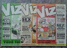 VIZ Adult Comics Issues 50, 53 & 54