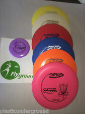 FRISBEE DISC GOLF SET OF 6  PICK YOUR FAVORITES FROM INNOVA & DISCRAFT SO MANY!
