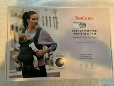 Babybjorn Baby Carrier Free 3D Navy Blue