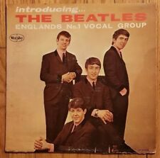 INTRODUCING THE BEATLES 1964 BLACK LABEL NO BRACKETS! MONO VJLP 1062 VG+