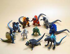 """lot of 10 Godzilla Monsters  Mecha Fire Godzilla Gigan PVC FIGURE SET 2""""-4"""""""