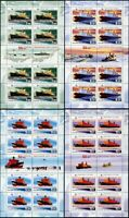 Russia-2009. 50 years of the Russian nuclear fleet. Nuclear icebreakers.4 Sheets