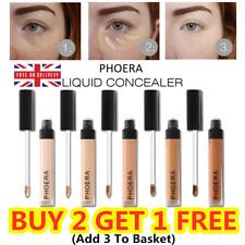 Phoera Full Coverage Concealer Foundation Makeup Matte Brighten Long Lasting UK