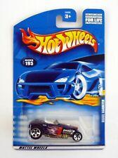 HOT WHEELS DEUCE ROADSTER #195 Die-Cast Car MOC COMPLETE 2000