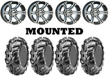 Kit 4 CST Wild Thang CU05 Tires 25x8-12/25x10-12 on ITP SS212 Machined IRS