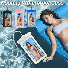 Floating Underwater Waterproof Bag Cell Phone Dry Case Pouch Cover Swimming US