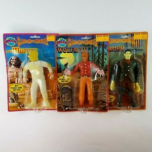 1986 Imperial Universal Pictures Classic Movie Monsters Action Figures LOT NEW