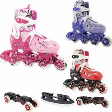 4 IN1 Kinder Inlineskates Rollschuhe größenverstellbar Schlittschuh Nils