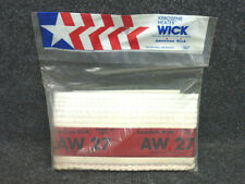 """NOS! American Wick KEROSENE HEATER WICK, AW-27, 7-1/2"""" X 4""""Fits: Many models"""