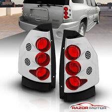 2002-2009 Gmc Envoy/2002-2006 Envoy Xl Chrome Rear Brake Tail Lights Pair (Fits: More than one vehicle)