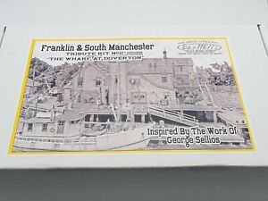 HO SCALE BAR MILLS KIT - FRANKLIN & SOUTH MANCHESTER/DOVERTON - TRIBUTE KIT #2