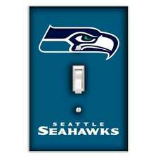 Seattle Seahawks Decorative Single Toggle Light Switch Cover - Switch Plate