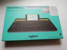 Logitech - K480 Bluetooth Multidevice Keyboard, BLACK. NEW!