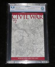CIVIL WAR # 7 TURNER SKETCH VARIANT (NM/MT) 9.8 CBCS GRADED SPIDERMAN IRON MAN