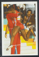 A Question of Sport 1986 Game Card - Val Briscoe-Hooks - Athletics (T577)