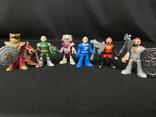 Fisher Price Imaginext Castle Knights Ram Knight, Weapons, Archer and more!