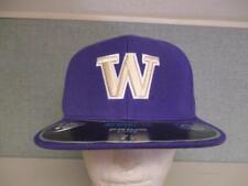 New Washington Huskies Adult Mens Sizes 7 1/4-3/8 Flatbrim Cap Hat $26
