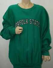 Norfolk State Spartans Pullover SWEATER Kelly Green NCAA XXL NWT