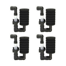 4 pcs Bio Sponge Filter Aquarium Fish Tank Betta Fry Shrimp Nano (S) XY-2830