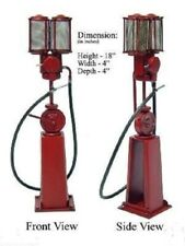 """New ListingHandmade Replica 18"""" 1920s? Epex Metal Gas/Oil Pump W/Nozzle, Rubber Hose"""