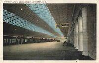 Postcard Union Station Concourse Washington DC