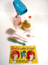 Vintage Mattel Barbie Color N Curl Playset Accessories Mixed Lot