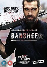 Banshee – The Complete Series (Seasons 1-4) DVD Action Crime Drama