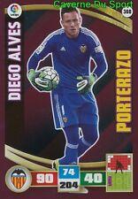 368 DIEGO ALVES BRAZIL VALENCIA.CF PORTERAZO CARD ADRENALYN LIGA 2016 PANINI