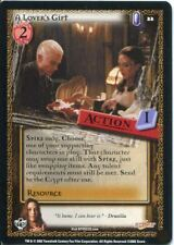 Buffy CCG TCG Angels Curse Unlimited Edition Card #22 A Lover's Gift