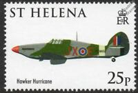 Hawker HURRICANE WWII Fighter Aircraft Stamp (2008 RAF 90th Anniversary)