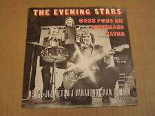 45T SINGLE TELSTAR / THE EVENING STARS - ONZE POES EN BUURMANS KATER