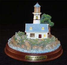 THOMAS KINKADE Lighthouse Figurine A Light in the Storm