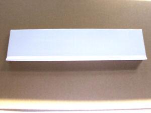 Briefeinwurf Messing edel neu Briefklappe Briefschlitz weiß zeitloses Design!!!