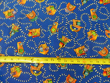 Monster Trail Eyeball Alley cotton fabric NEW TT