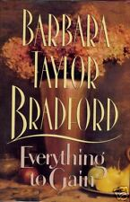 Barbara Taylor Bradford Signed Everything to Gain 1stEd