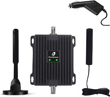 Cell Phone Signal Booster for Car, Truck and SUV - Enhance 4G LTE Data and Volte