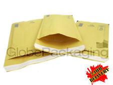5000 x AROFOL AR4 GOLD BUBBLE ENVELOPES PADDED BAGS 180x265mm D/1  *24HRS*